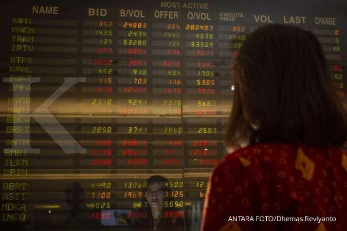 Ini 10 saham Kompas100 dengan harga paling tertekan sejak awal tahun 2019