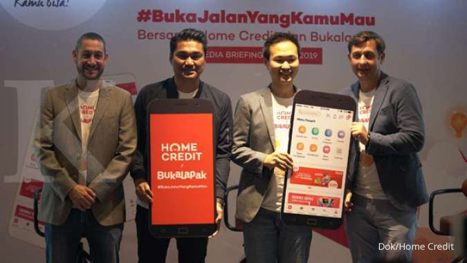 Salurkan Pendanaan Multiguna Home Credit Gandeng Bukalapak