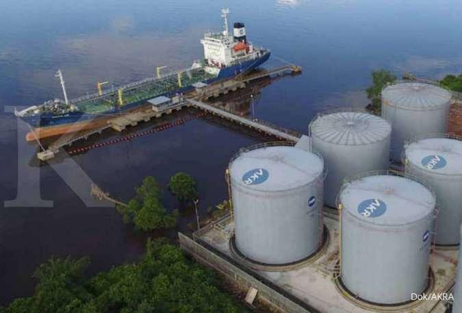 Meski harga minyak tak stabil, AKR Corporindo (AKRA) yakin laba bisa naik 15%-20%