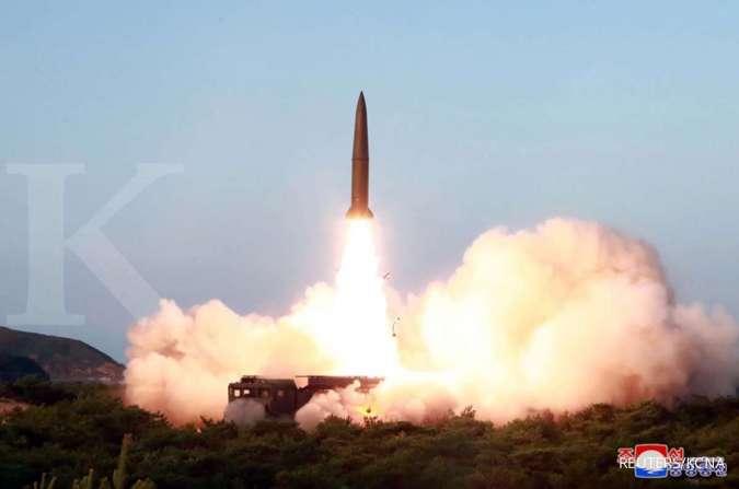 Peluncuran misil Korut
