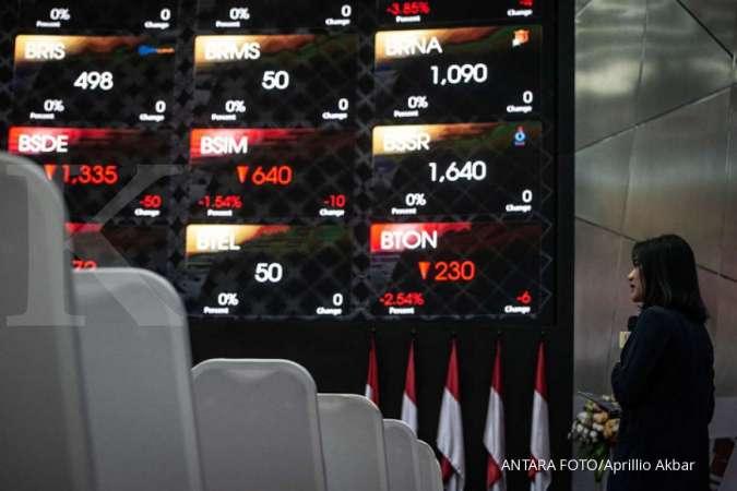 IHSG gagal bertahan di atas 6.300 hingga akhir perdagangan sesi I