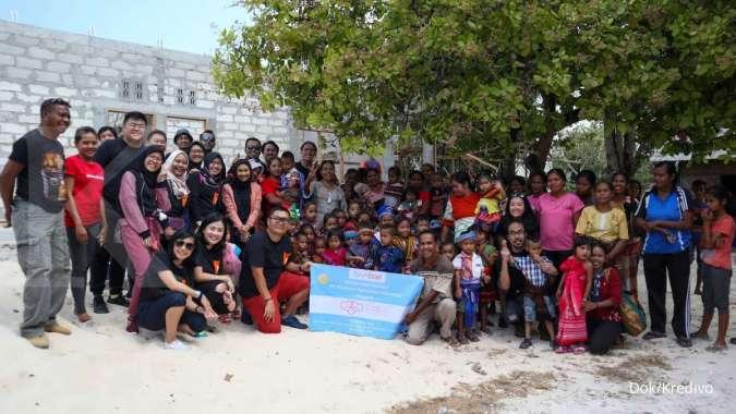 Dorong Kualitas Pendidikan di NTT, Kredivo Gandeng Happy Hearts Indonesia