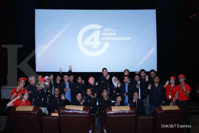 4 Tahun Bertumbuh, J&T Express Giatkan Inovasi