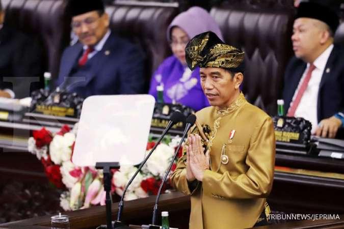 Jokowi dan Ethes lambaikan tangan, Prabowo asyik berjoget