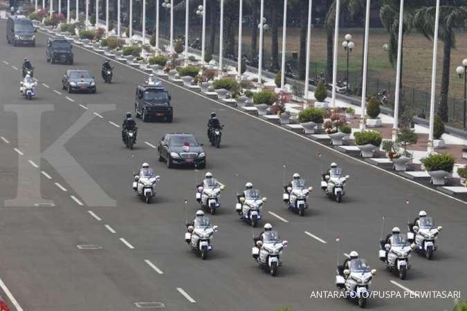 Istana Kepresidenan sewa 18 mobil untuk tamu negara saat pelantikan