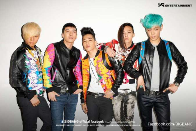 Bigbang, boy group di bawah YG Entertainment