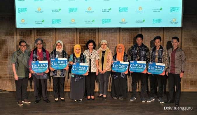 Persada Capital Investama dan Adaro Foundation Berkolaborasi dengan Ruangguru Berikan Beasiswa