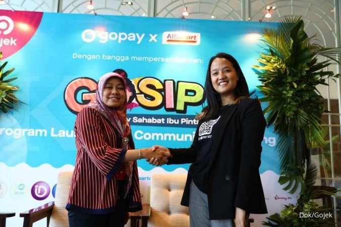 GoPay dan Alfamart Luncurkan Komunitas Gosip, Ibu Bisa Lebih Mudah Belanja dan Menghemat Pengeluaran