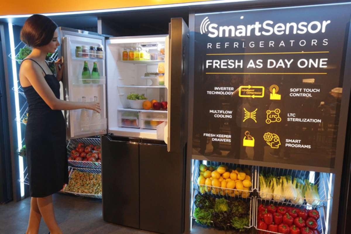 Peluncuran Modena Smart Sensor Refrigerator