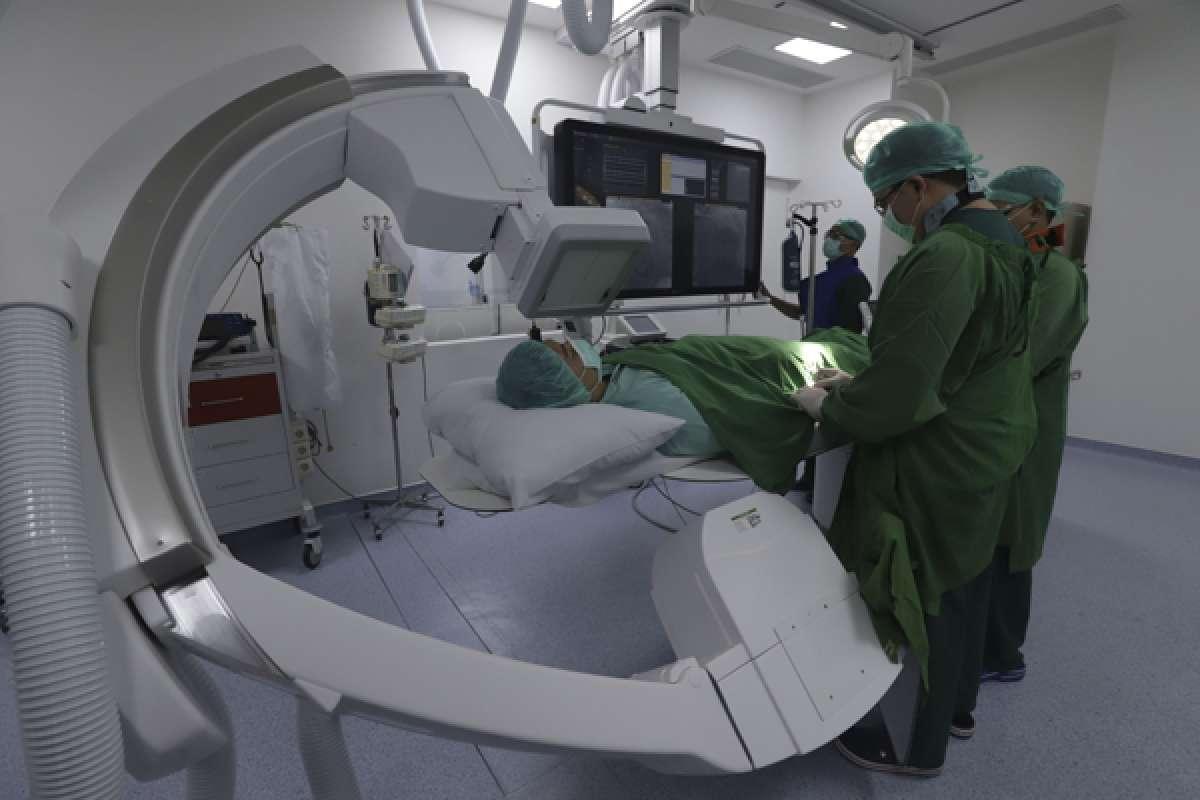 Pemeriksaan jantung di Rumah Sakit Jantung Diagram