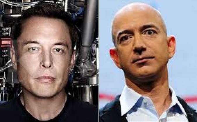 Jeff Bezos berprinsip 'customer first', sedangkan Elon Musk 'technology first'