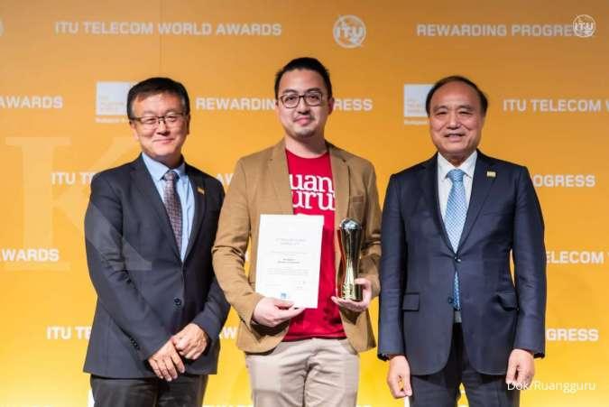 Ruangguru Harumkan Nama Indonesia, Menangkan Perhargaan Prestisius ITU Global Industry Awards 2019 di Hungaria