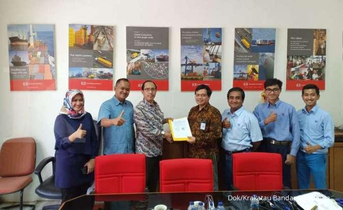 SMDR Perkuat layanan logistik, Krakatau Bandar Samudera gandeng Samudera Indonesia