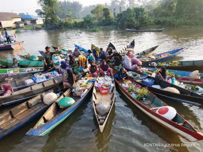 Melancong Ke Banjarmasin Dari Kapal Klotok Sampai Pasar Terapung