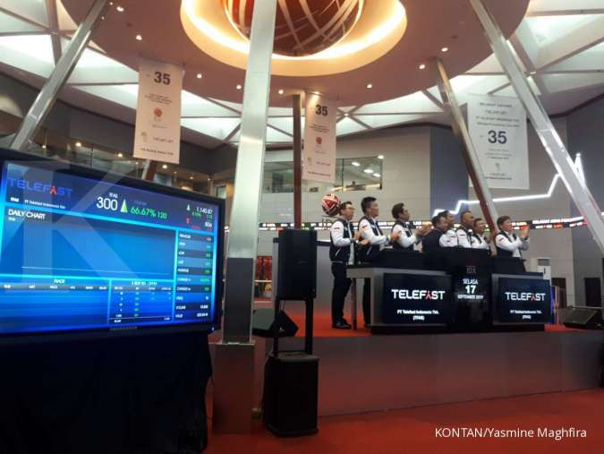 Telefast Indonesia (TFAS) menargetkan penjualan Rp 687,5 miliar tahun ini