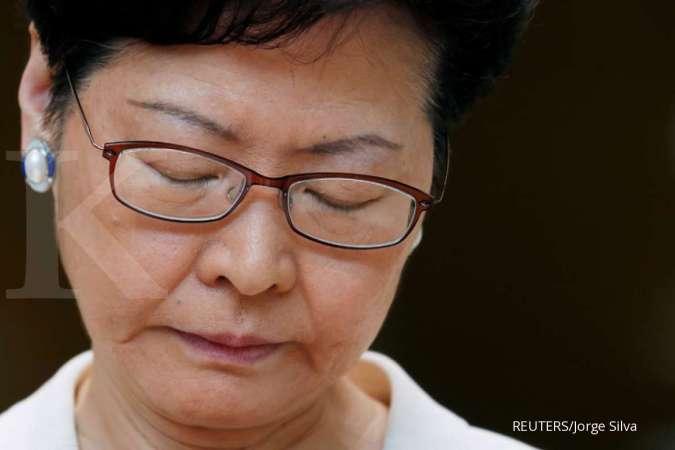 Beijing akan mencopot Pimpinan Hong Kong Carrie Lam?