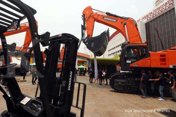 KOBX Kobexindo Tractors (KOBX) belum berencana melakukan ekspansi tahun ini