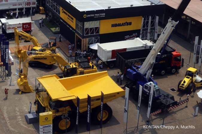 Penjualan alat berat turun, penjualan batubara United Tractors (UNTR) justru naik