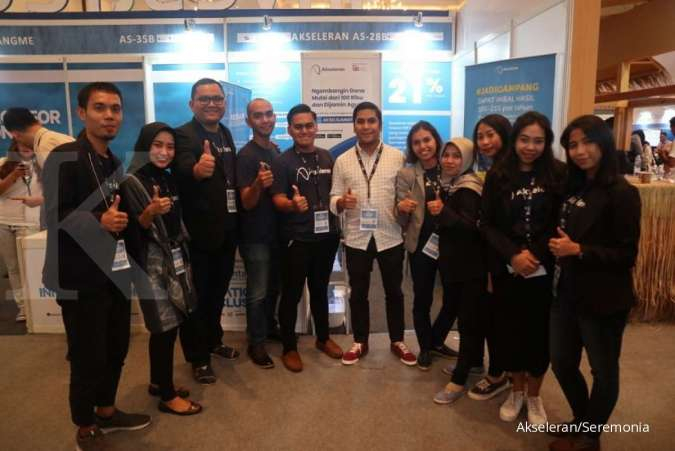 Akseleran Ramaikan Indonesia Fintech Summit & Expo 2019