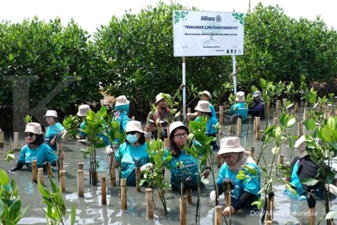 Allianz Indonesia Lakukan Penanaman 3.000 Mangrove dan Berpartisipasi Dalam Gerakan World Cleanup Day 2019