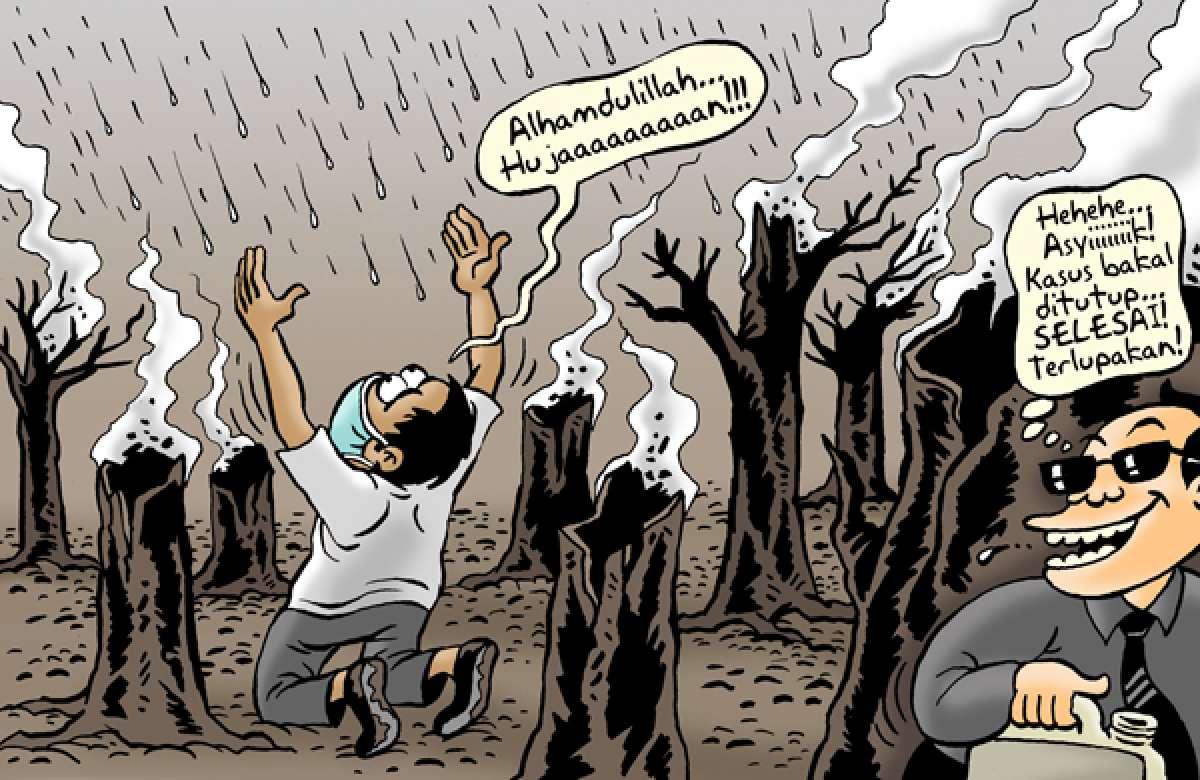 Benny Rachmadi - Hujan dan Karhutla