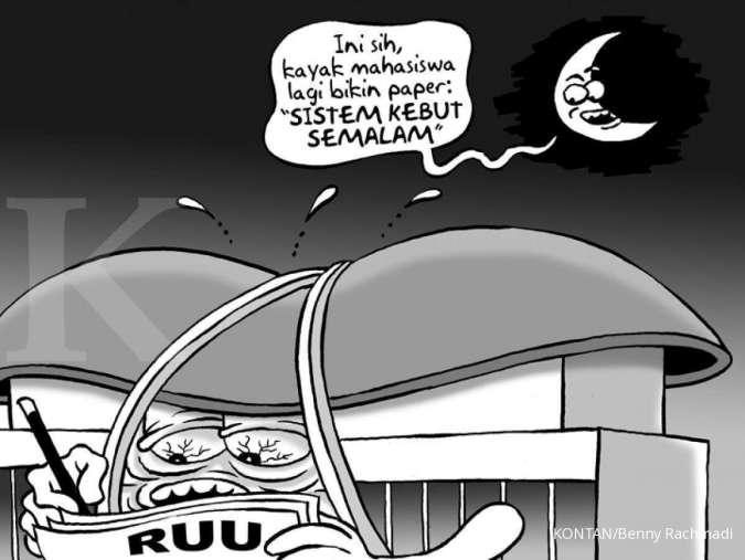 Benny Rachmadi - DPR Kebut Pembahasan Undang-Undang
