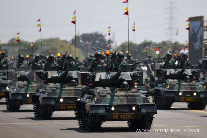 Alutsista kendaraan lapis baja TNI AD