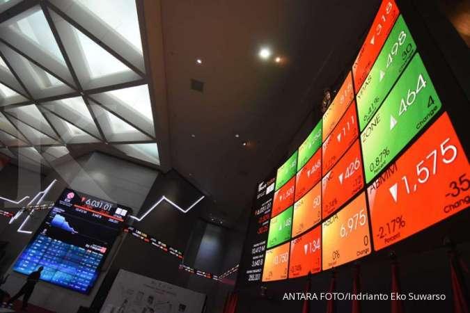 Bertahan di zona hijau, IHSG naik 0,37% di sesi I perdagangan Selasa (8/10)