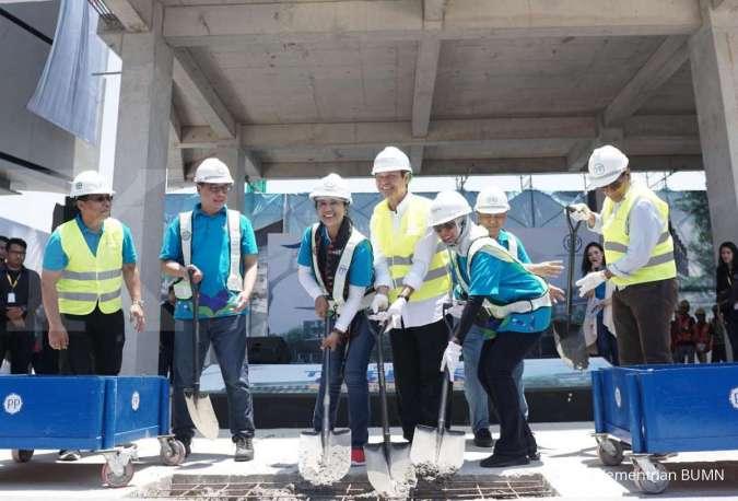Menteri Rini Resmikan Topping Off Multifunction Hall Kawasan Terpadu Labuan Bajo
