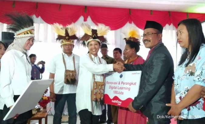Menteri Rini: Bukti Nyata Kontribusi BUMN Tingkatkan Kualitas SDM RI