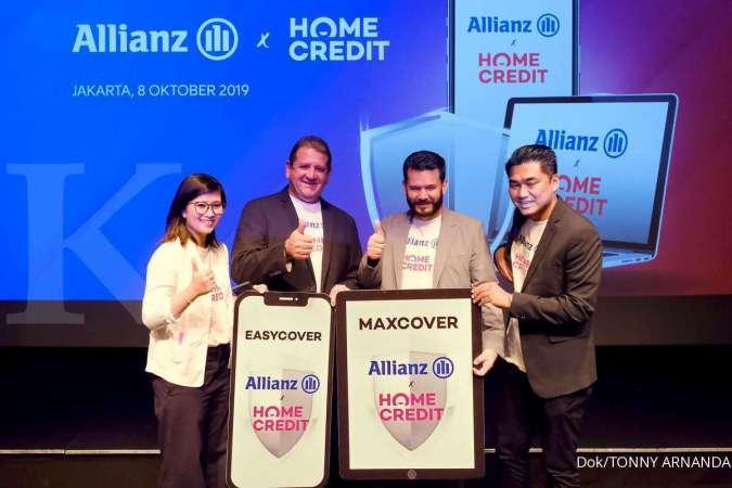 Allianz Indonesia dan Home Credit Indonesia Resmikan Kerja Sama dan Luncurkan Proteksi Gadget Easycover & Maxcover