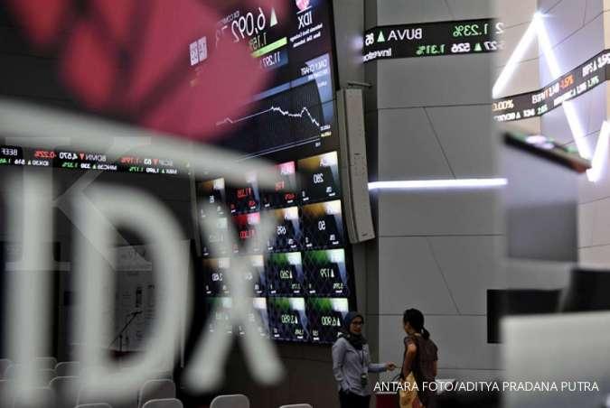 IHSG menguat hingga akhir sesi I, bursa saham menghijau dalam lima hari perdagangan