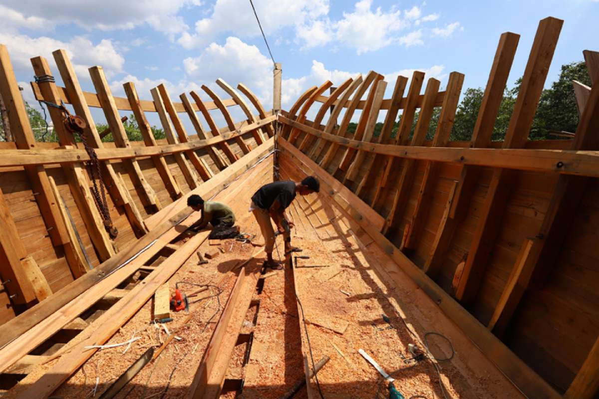 Produksi kapal kayu