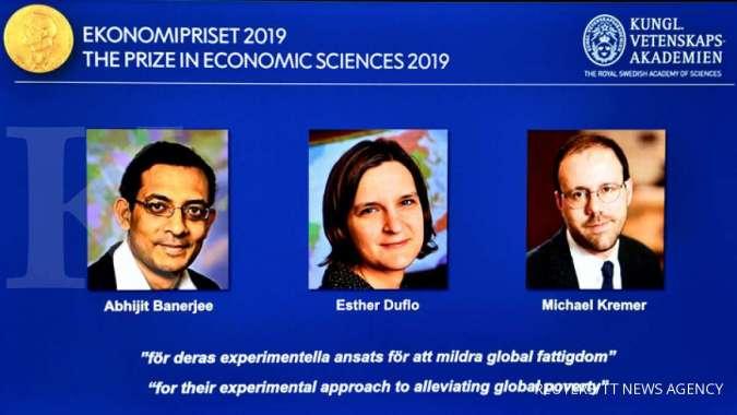 Perangi kemiskinan, tiga ekonom ini menangkan nobel ekonomi 2019