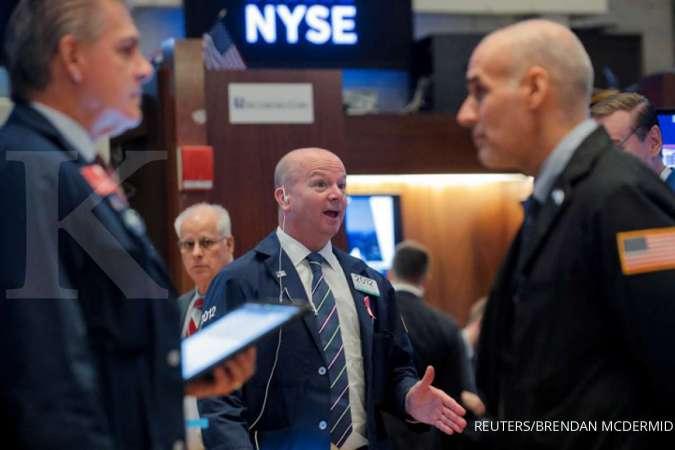 Wall Street naik menyambut musim laporan keuangan kuartal ketiga