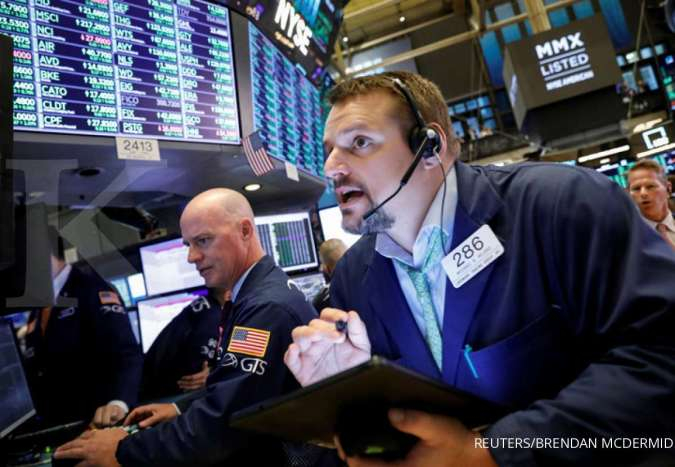 Wall Street naik ditopang optimisme kemajuan negosiasi dagang AS-China