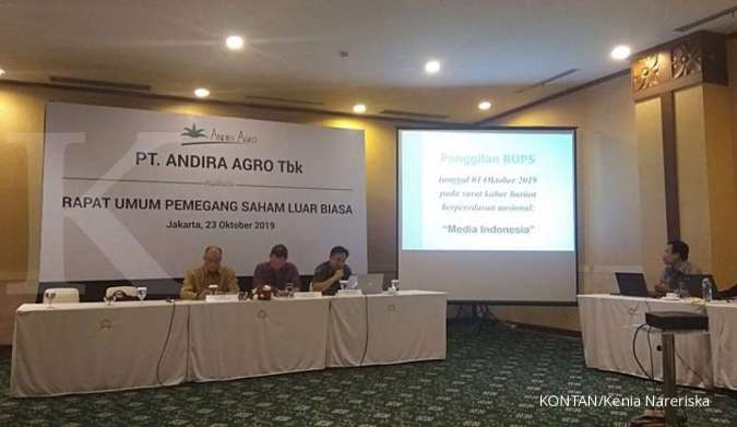 Pecah Saham, Andira Agro (ANDI) Ingin Lebih Likuid
