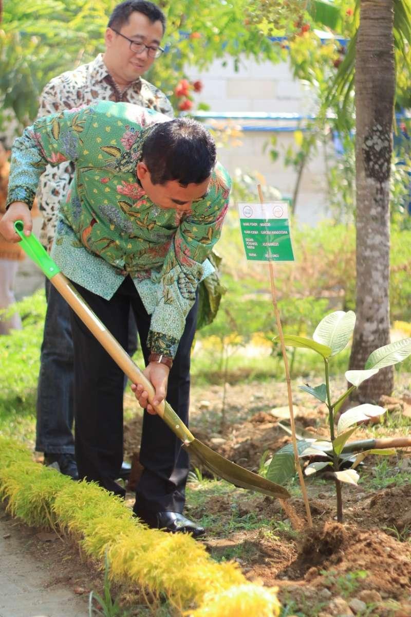 Rumah Batik TBIG Tambah Koleksi Tanaman Pewarna Alam untuk Batik