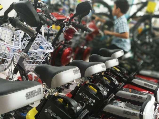 SLIS Penuh tantangan, produsen sepeda listrik SLIS kaji ulang target produksi tahun ini