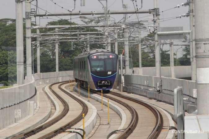 Proyek pembangunan MRT fase IIA resmi dimulai