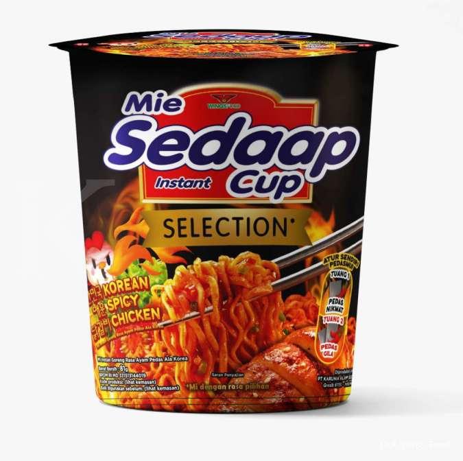 Mie Sedaap Goreng Korean Spicy Chicken Kini Tersedia dalam Bentuk Kemasan Praktis