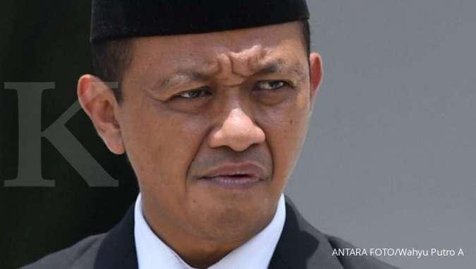 ILUSTRASI. Kepala BKPM Bahlil Lahadalia bersiap mengikuti foto bersama seusai pelantikan menteri Kabinet Indonesia Maju di Beranda Halaman Istana Merdeka, Jakarta, Rabu (23/10/2019).