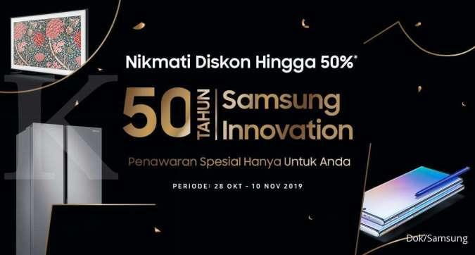 Menandai 50 Tahun Inovasi Samsung dengan Penawaran Khusus Bagi Konsumen Setia di Indonesia