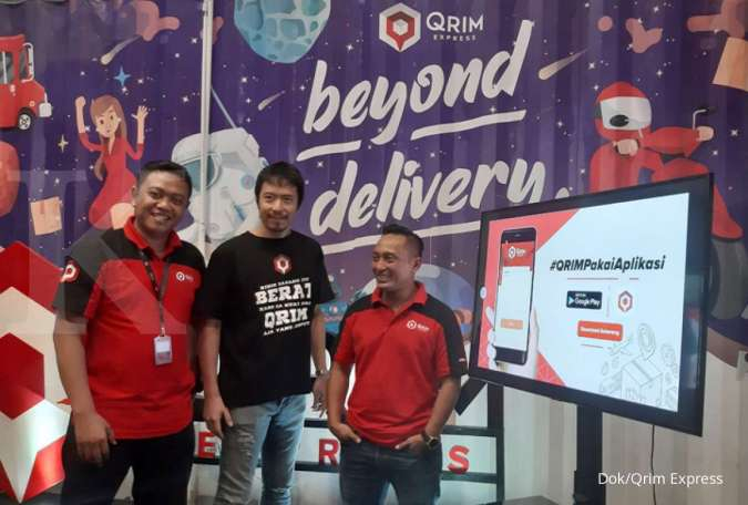Tidak hanya fokus segmen customer to customer, Qrim Express juga rambah e-commerce