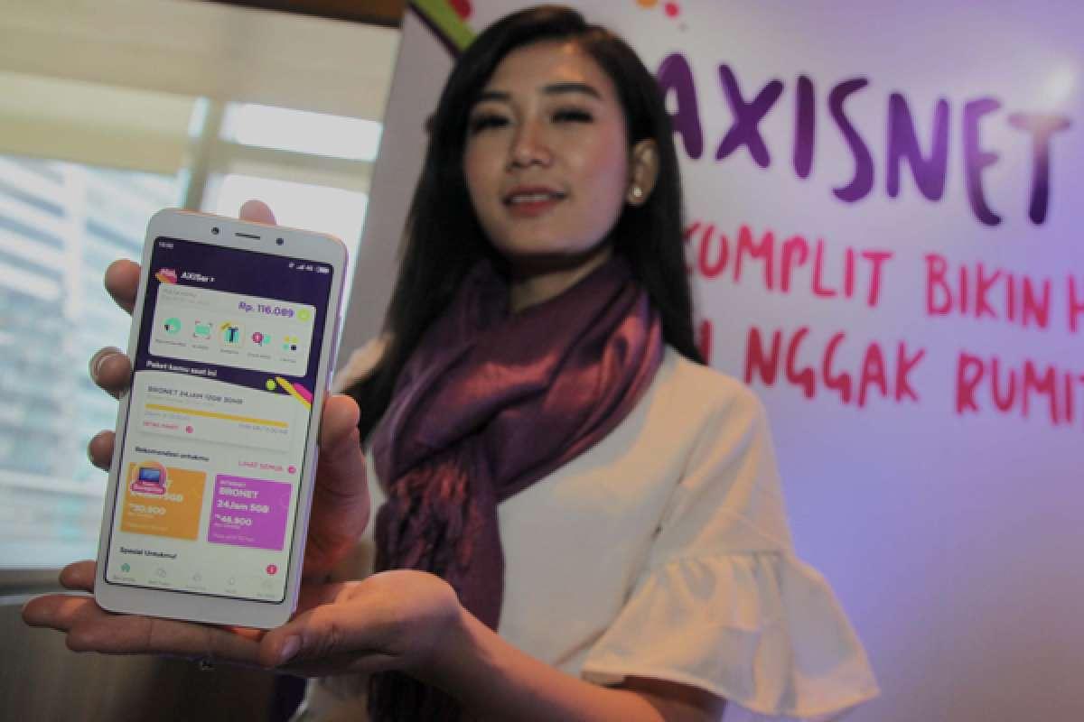 Peluncuran aplikasi AXISnet