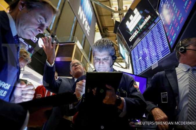 Wall Street cenderung turun, saham Boeing menyokong Dow Jones