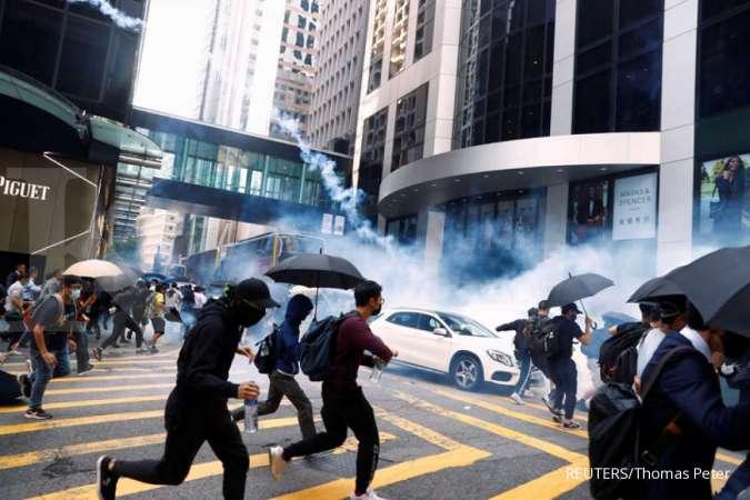 Pasca polisi tembak pendemo, AS kutuk penggunaan kekuatan mematikan di Hong Kong