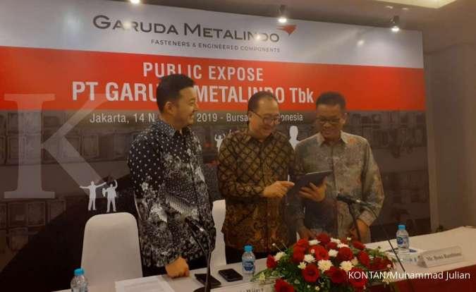 BOLT Tahun 2020, Garuda Metalindo (BOLT) mengejar pertumbuhan penjualan 5%-10%