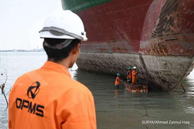 OPMS Optima Prima Metal (OPMS) beli tiga kapal bekas untuk bahan baku besi scrap