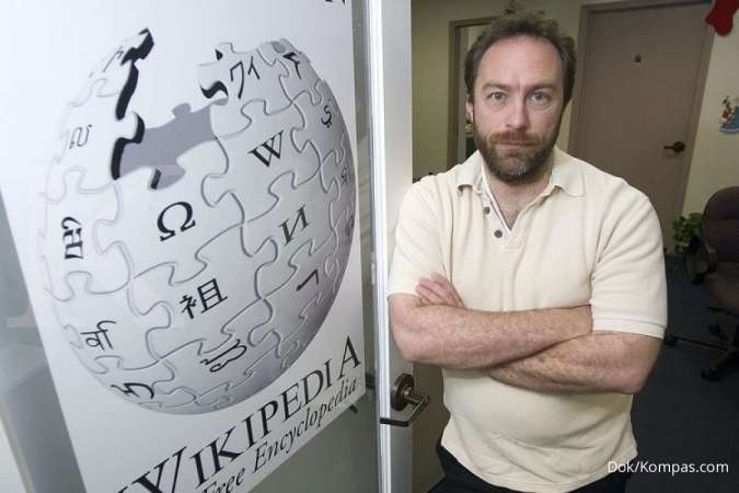 ILUSTRASI: Pendiri Wikipedia, Jimmy Wales.